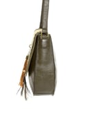 Bags of a Feather Olive Green Handbag