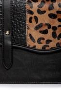 Cheetahs Always Win Animal Print Black Purse