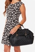 Not Quilty Black Quilted Handbag at Lulus.com!
