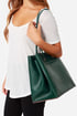 Leave the Night On Dark Green Tote at Lulus.com!