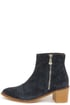 Report Jackal Navy Suede Leather Ankle Boots at Lulus.com!