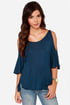LULUS Exclusive Love Shy Navy Blue Top at Lulus.com!