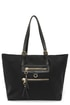 On the Scene Black Tote at Lulus.com!