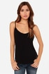 LULUS Exclusive Exciting News Black Tank Top at Lulus.com!