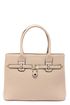Locked and Loaded Beige Handbag at Lulus.com!