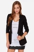 Aryn K Executive Sweet Black Blazer at Lulus.com!