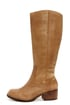Very Volatile Kiara Tan Knee High Leather Riding Boots