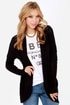 Sweater Business Bureau Black Cardigan Sweater