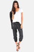 Gentle Fawn Rocha Black Sequin Harem Pants