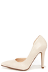My Delicious Mitten Beige D'Orsay Pumps at Lulus.com!