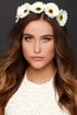 My Darling Daisy Ivory Flower Crown at Lulus.com!
