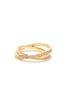 To Infinity Gold Rhinestone Ring at Lulus.com!