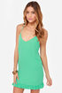 Dream Scheme Mint Green Dress
