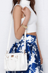 Love Lock Ivory Handbag at Lulus.com!