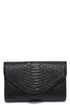 Reptile it Like it Is Black Clutch at Lulus.com!
