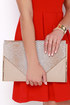 Text Me Taupe Envelope Clutch at Lulus.com!