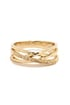 Wrapped in Radiance Gold Rhinestone Ring at Lulus.com!