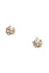 Princess Diaries Gold Rhinestone Earrings at Lulus.com!