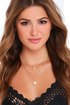 Decked Out Iridescent White Layered Necklace at Lulus.com!