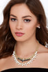 Stunning Out White Rhinestone Statement Necklace at Lulus.com!
