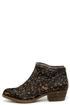 Kensie Gabor Leopard Pony Fur Ankle Boots at Lulus.com!
