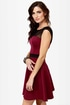 Spin Doctor Burgundy Dress