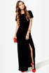 Don\\\\\\\\\\\\\\\\\\\\\\\\\\\\\\\'t Call It a Comeback Black Maxi Dress
