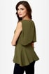 Swoop Ba-Doop Olive Green Top