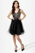Ballet it on Me Black Sequin Dress