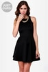 LULUS Exclusive Wanna Race? Black Dress