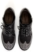 Michael Antonio Peter Black Rhinestone Wingtip Oxfords