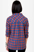 O'Neill Free Style Plaid Button-Up Top
