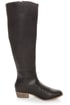 Mixx Daniel Black Knee High Riding Boots