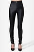 Mink Pink Hit the Road Black Moto Pants