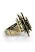 Column Me Back Gold Stretch Ring
