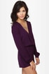 Press Release Purple Romper