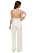Blaque Label Foxy Lady White Jumpsuit
