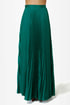 Blaque Label Mermaid\\\\\\\'s Path Teal Maxi Skirt