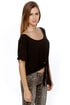 Brandy Melville John Galt Rae Black Top