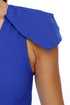 Marry the Night One Shoulder Blue Dress