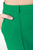 Crop of Kisses Green Cropped Pants