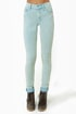 Cheap Monday Second Skin Blue Corduroy Skinny Pants