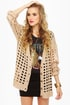 Honey Wheat Waffles Beige Cardigan Sweater