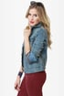 Dittos Sabrina Medium Wash Denim Jacket