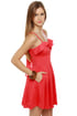Just Wanna Have Fun Coral Red Dress