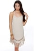 Hurley Coachella Beige Dress
