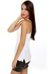 Hurley Solid Perfect White Tank Top