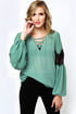 Sage Advised Sage Green Lace Top