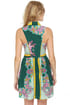 Summer of Love Green Paisley Print Dress