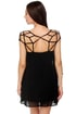 Net-ropolis Black Dress